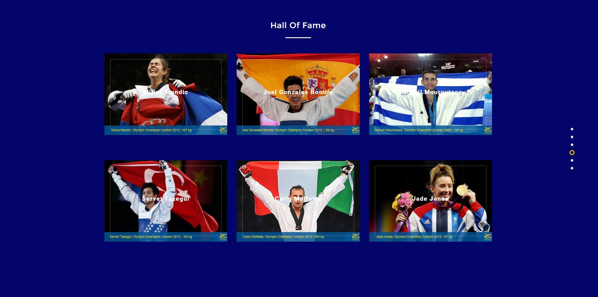 hall of fame -etu