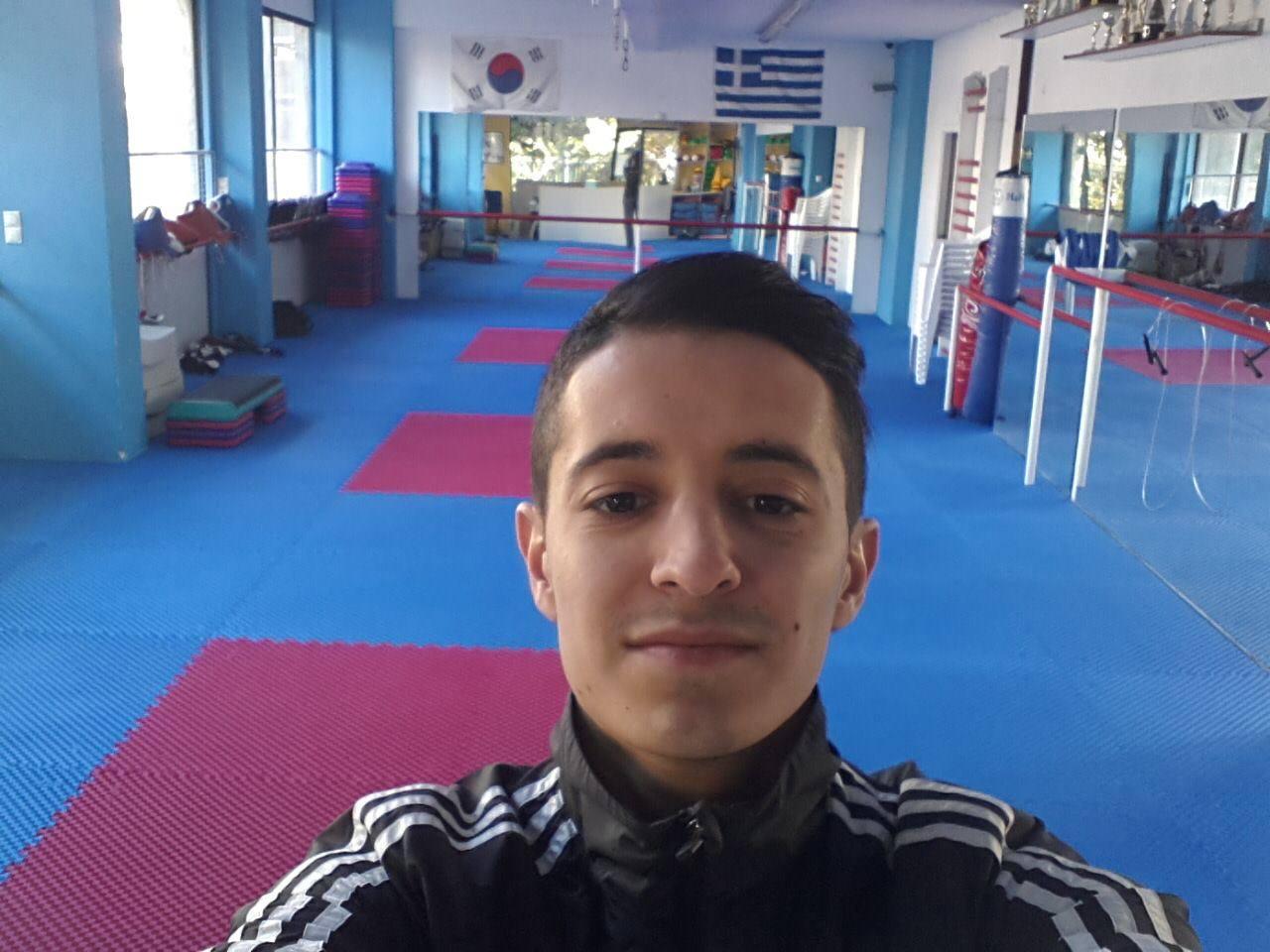 Giorgos Simitsis selfie