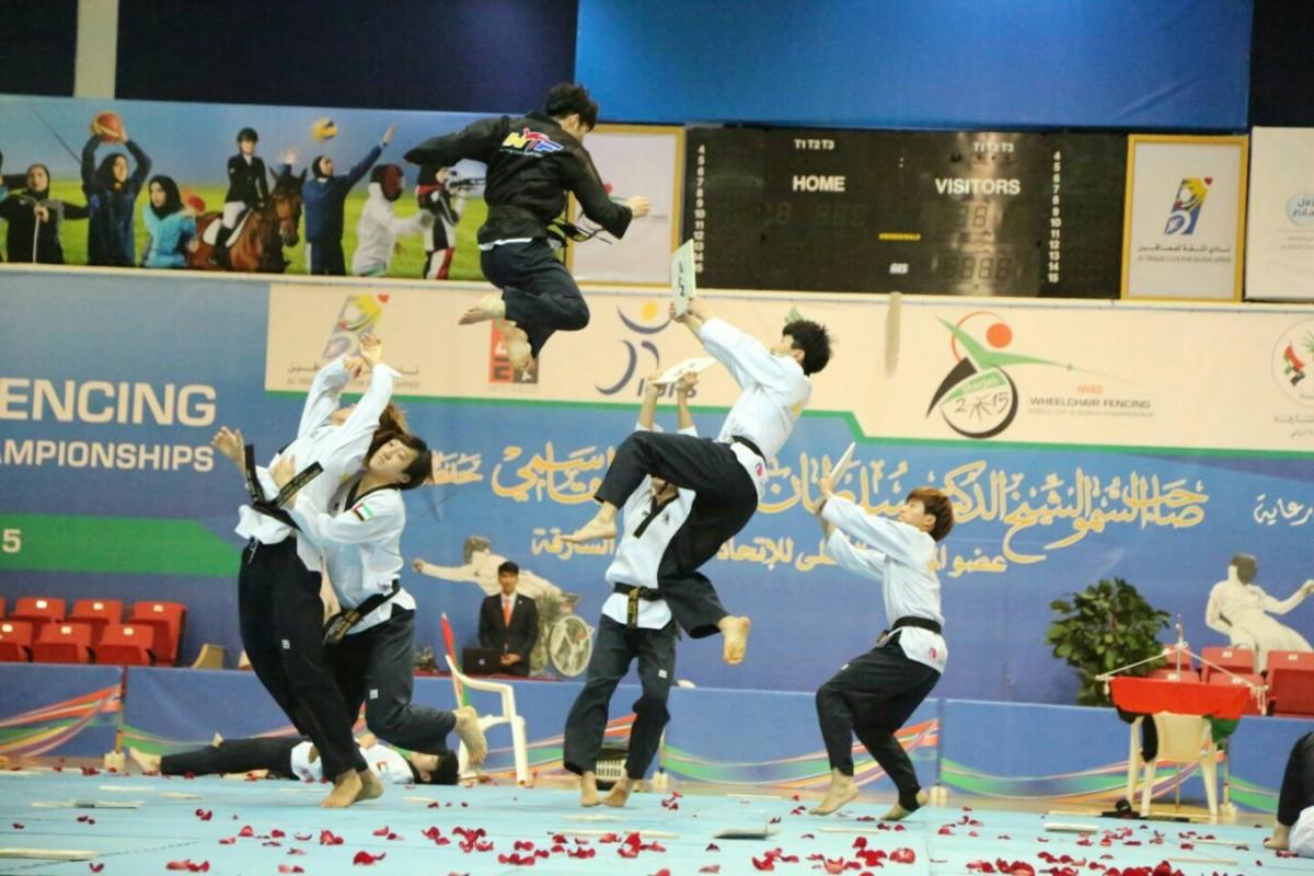 Demonstration Team WTF thiqah club (14)