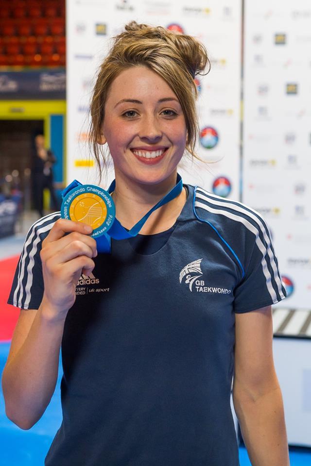 jade jones taekwondo gold european