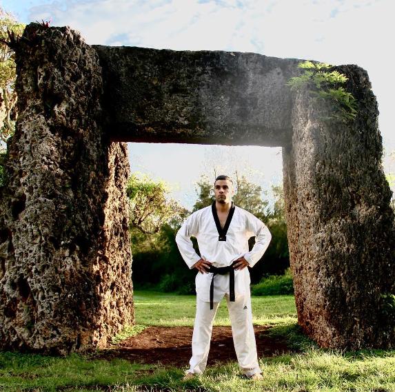 Taufatofua taekwondo rio 2016 (1)