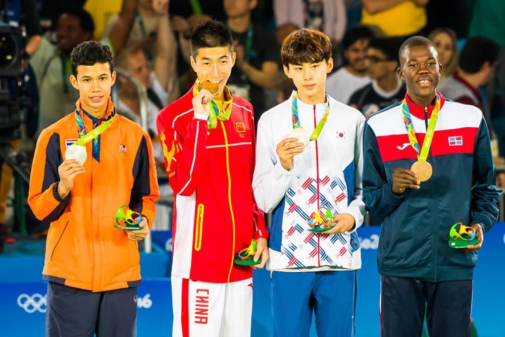 andres olympionikes tkd rio 2016 -58 kila