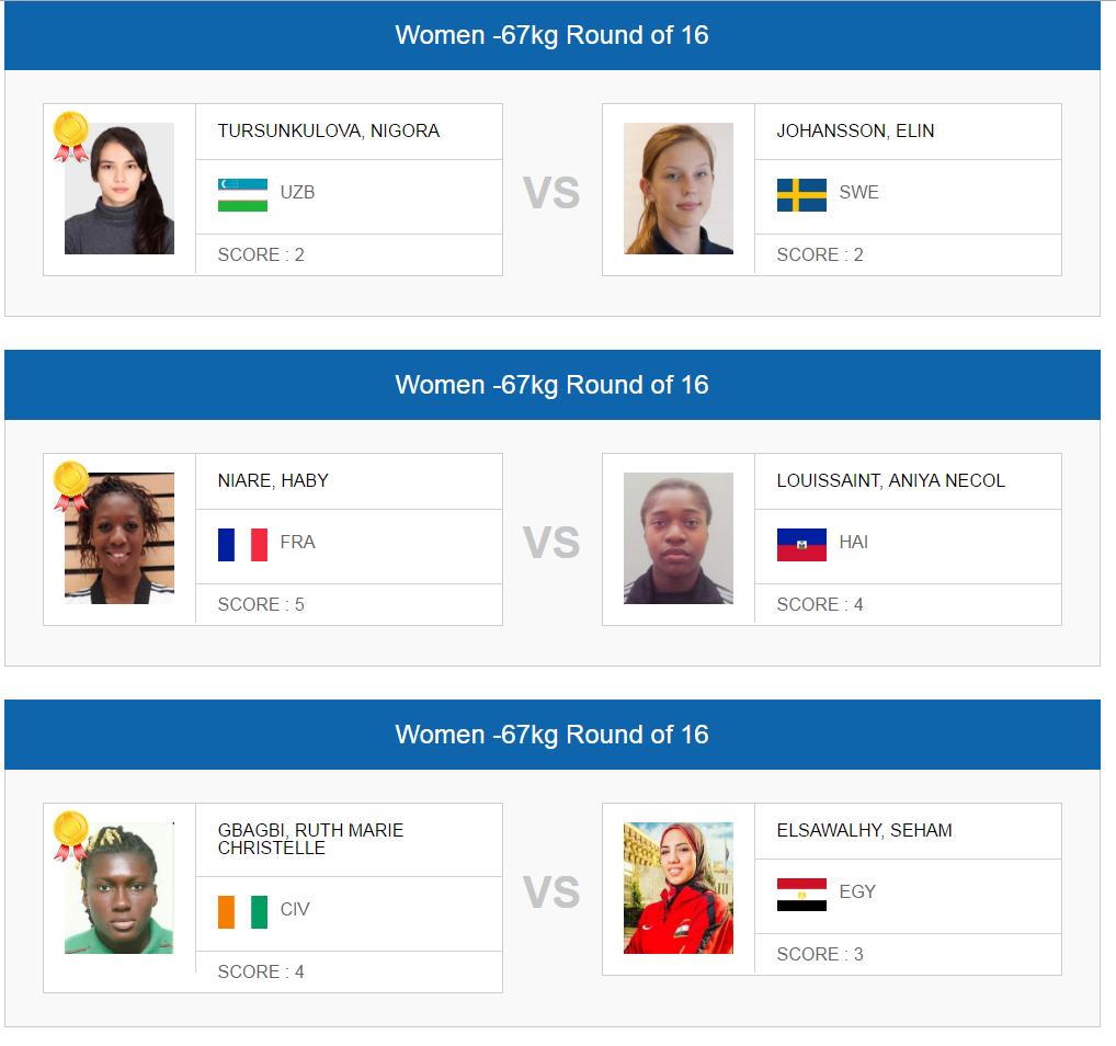 rio 2016 women -67 tkd a